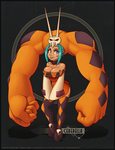 Digi Illustration - Cerebella from SkullGirls by Indivicolours