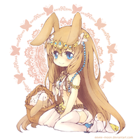 Commission: OC for RosaBunny by eevee-moon