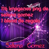 selena gomez pack png by anareyes