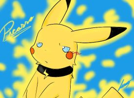 Picasso the Pikachu by The-Chibster