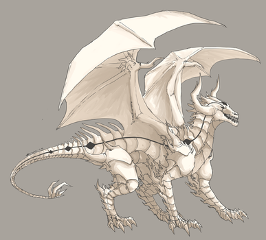 DDA :: Divine Dragon by fireflares