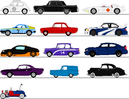 Cars Sprites by omega-steam