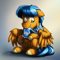 I Missed My Scarf by BuizelCream