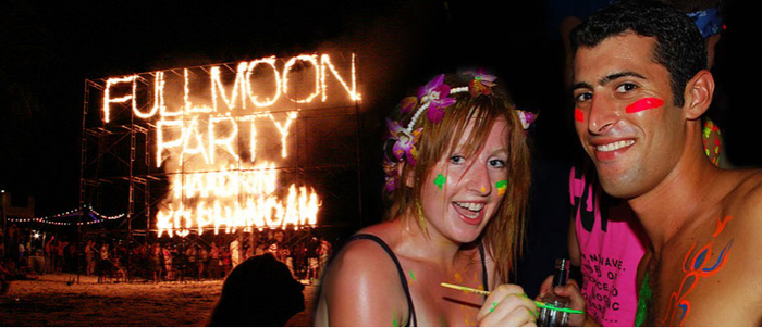 Full Moon Party by surethingtravel