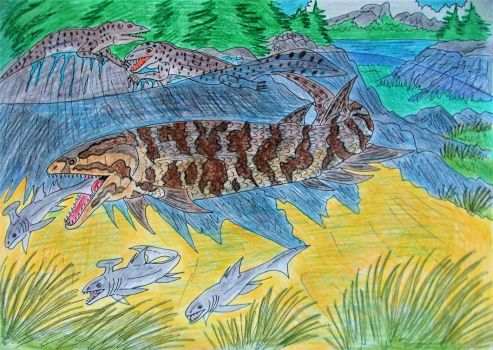 Devonian River Monster by WDGHK