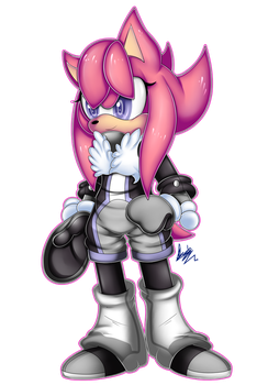 (COMM) 1/2 .:Tandy The Hedgehog:. by MimiGuerrero