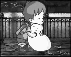 The Boy and his Blob by Candido1225