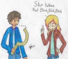 Stop talking that blah blah by girlsrl