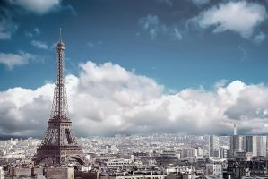 Eiffel tower by obsid1an