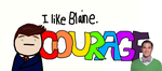 I Like Blaine. *COURAGE* by Sugerpie56