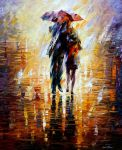 together in the storm. by Leonidafremov