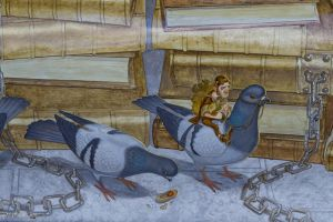 Pidgeon-riding feagle by CyclicalCore