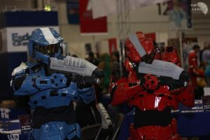 Spartan Cosplay MCM Oct 09 by SJWebster