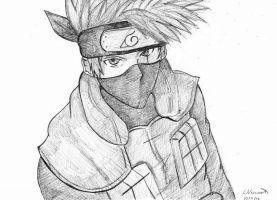 ~Kakashi~ by EspadaFreak