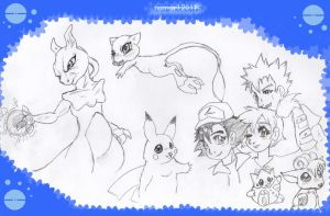 ::PokeGang:: by norngirl