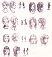 Character Studies by GoldenOne