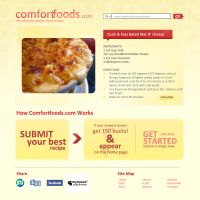 Comfortfoods.com by squizzi