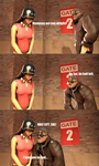 The Punny Soldierboy #3 by googlygazer