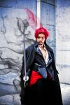 Strong World Shanks Cosplay by JFamily