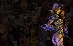 Witchblade.WhatYouLookinAt by Troilus