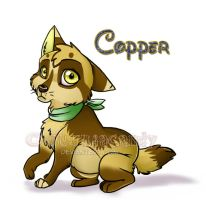 Pup Copper by jujubacandy
