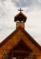 Church Steeple by terryrunion