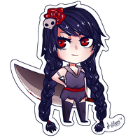 Chibi Warrior by Mylla-Peppers23