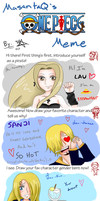 One Piece Meme - Lau's Version by laurockss