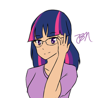 Nerdy Twilight (30 Minute Challenge) by JayBeanieMags