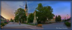 Panorama.The My City. Hungary. HDR-picture. by magyarilaszlo