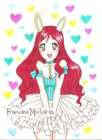 red bunny by theredprincess