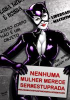 Catwoman_Apoio. by Troianocomics