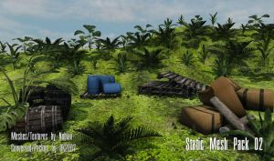 UDK Static Mesh Pack 02 by DK2007