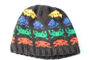 Space Invaders Hat by holls