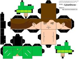 Cubee - Captain Kirk by CyberDrone