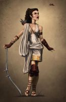 Artemis: Greek Goddess of the Hunt by rpowell77