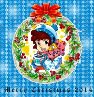 Christmas card by nongost1
