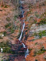 Mountain Waterfall by Sasa-Van-Goth
