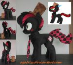 OC Hatter plush by agatrix