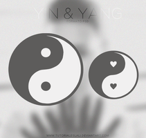 Yin Yang [PSD] by tutorialeslali