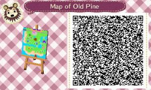Map of Old PIne by GumballQR