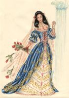 A dress for a queen by Arany