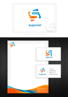 Superior Stationery Design by dsquaredgfx