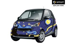 Smartcar Entry- Starry Night by SilverSurge5001