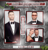 +Adam Levine photopack png by ForeverTribute