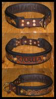 Dog Collar Kiowa II by Wodenswolf