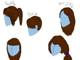 Hair concept practice thing... by Kitto-Xx
