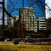 Warsaw Reflections by Kaja-kgr