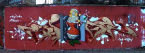 X-mas Wall 2013 by spoare153