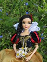Snow White in garden by PriPePoi